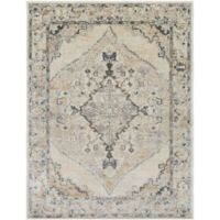 Surya Milamma Medallion 7-Foot 10-Inch x 10-Foot 3-Inch Area Rug in Tan