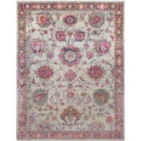 Surya Milamma Floral 7-Foot 10-Inch x 10-Foot 3-Inch Area Rug in Pink