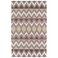 Kaleen Lakota Wasula 3-Foot 6-Inch x 5-Foot 6-Inch Area Rug in Purple