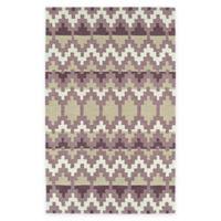 Kaleen Lakota Wasula 5-Foot x 7-Foot 9-Inch Area Rug in Purple