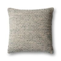 Magnolia Home by Joanna Gaines Sosa Square Throw Pillow in Grey