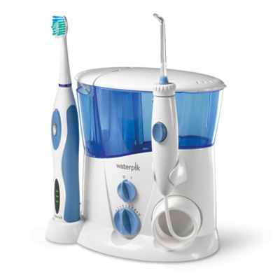 Waterpik® Complete Care Water Flosser and Sonic Toothbrush System