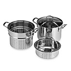 Denmark® Stainless Steel 8-Quart 4-Piece Multi-Cooker