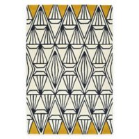 Kaleen Origami Prism 5-Foot 7-Inch x 6-Foot Area Rug in Ivory