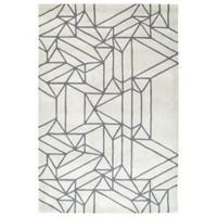 Kaleen Origami Linear 2-Foot x 3-Foot Accent Rug in Mint