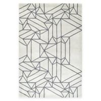 Kaleen Origami Linear 5-Foot x 7-Foot 6-Inch Area Rug in Mint