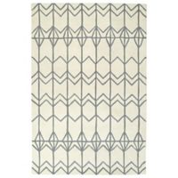 Kaleen Origami Fences 2-Foot x 3-Foot Accent Rug in Ivory