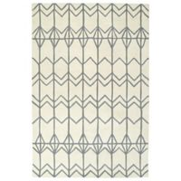 Kaleen Origami Fences 3-Foot 6-Inch x 5-Foot 3-Inch Area Rug in Ivory