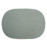 Kraftware™ Fishnet Oval Placemats in Hunter Green (Set of 12)