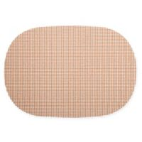 Kraftware™ Fishnet Oval Placemats in Toffee (Set of 12)