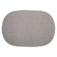 Kraftware™ Fishnet Oval Placemats in Black (Set of 12)