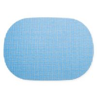 Kraftware™ Fishnet Oval Placemats in Blue (Set of 12)