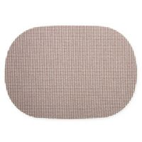Kraftware™ Fishnet Oval Placemats in Chocolate (Set of 12)