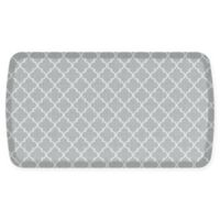GelPro® Elite Decorator Lattice 20-Inch x 36-Inch Kitchen Mat in Light Grey