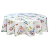 Lenox® Butterfly Meadow Hydrangea 70-Inch Round Tablecloth