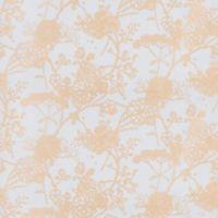 GLOWE Flower Garden Fabric Roller Shade Swatch in Gold