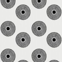 GLOWE by The Shade Store® Sunburst Fabric Roller Shade Swatch in Noir