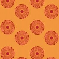 GLOWE by The Shade Store® Sunburst Fabric Roller Shade Swatch in Fire