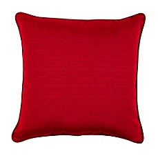 Forsyth 17-Inch Square Outdoor Throw Pillow