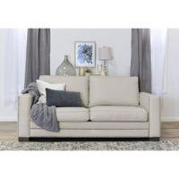 Serta® Mason Bonded Leather Sofa in Ivory