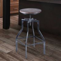 Armen Living Concord Bar Stool in Grey