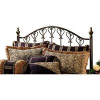 Hillsdale Huntley King Headboard in Dusty Bronze