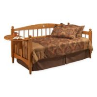 Hillsdale Dalton Daybed with Suspension Deck and Trundle in Medium Oak