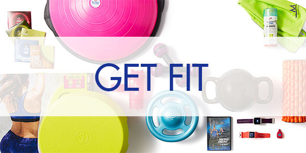 image of products that are intended to help you get fit