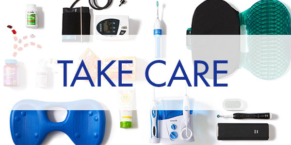 image of products that are intended to help you take care