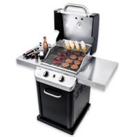 Char-Broil® Signature™ 463675517 Cabinet 350 2-Burner Gas Grill in Black/Stainless Steel