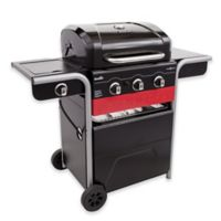 Char-Broil® Gas2Coal® Hybrid 3-Burner Gas and Charcoal Grill in Black/Stainless Steel