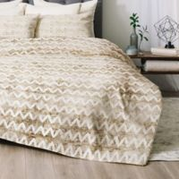 Deny Designs Rustica Twin/Twin XL Comforter Set in Gold