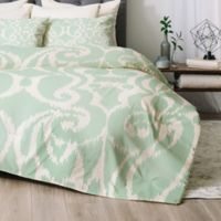 Deny Designs Khristian A Howell Eloise King Comforter Set in Green