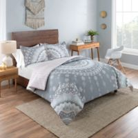Vue Mira Reversible King Comforter Set in Grey