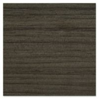 GLOWE Faux Wood Blinds Swatch in Black Walnut