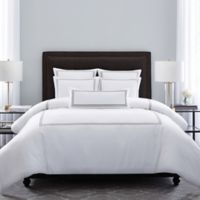 Wamsutta® Hotel Triple Baratta Stitch Full/Queen Comforter Set in Silver