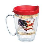 Tervis® Woodgrain American Flag Wrap 16 oz. Mug with Lid