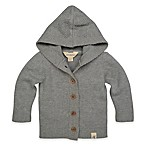 Burt's Bees Baby® Size 3M Sweater Cardigan in Grey