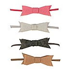 So 'dorable 4-Pack Felt Bow Headwraps