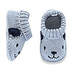 carter's® Newborn Puppy Crochet Bootie in Blue