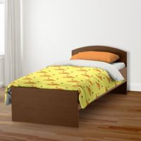 Designs Direct Duck Face Friend Twin Duvet Cover in Yellow