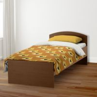 Designs Direct Lion Face Friend Twin Duvet Cover in Brown
