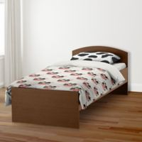 Designs Direct Cow Face Friend Twin Duvet Cover in White