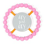 Bella Tunno™ Hey Girl Happy Teether in Pink
