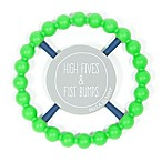 Bella Tunno™ High Fives Happy Teether in Green