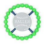 Bella Tunno™ Baller Happy Teether in Green