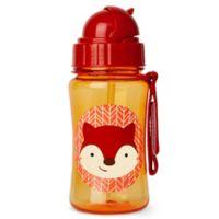 SKIP*HOP® Zoo 12 oz. Fox Straw Bottle