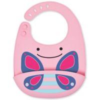 SKIP*HOP® Butterfly ZOO Fold & Go Silicone Bib