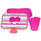 SKIP*HOP® Forget Me Not Heart and Stripes  Lunch Kit