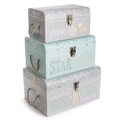 Charmant Toy Storage U003e Tri Coastal Design Sweet Baby Of Mine Nested Boxes In Grey (